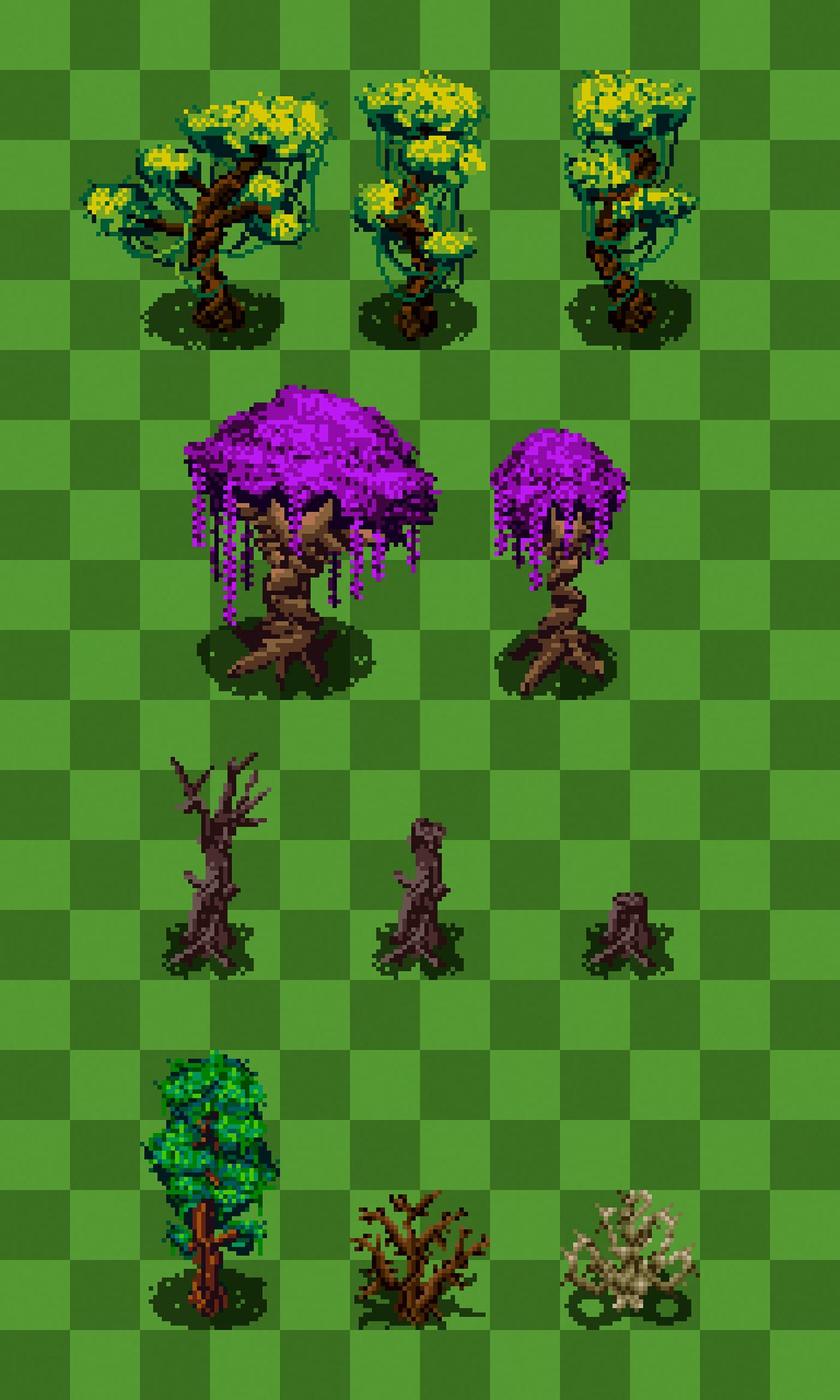 art assets game pixel pixelart