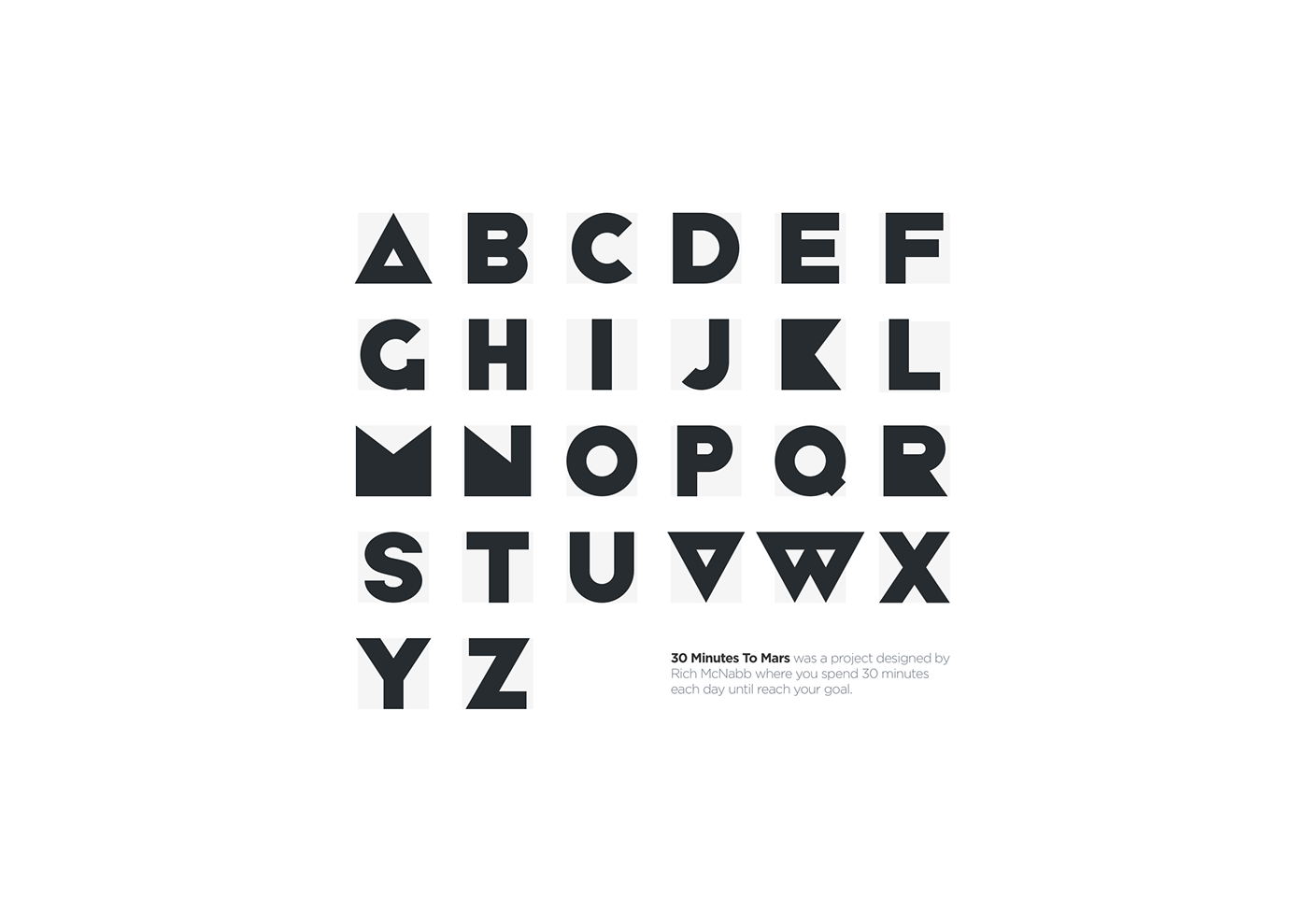 Free font free geometric geometric font vector download alphabet uppercase font