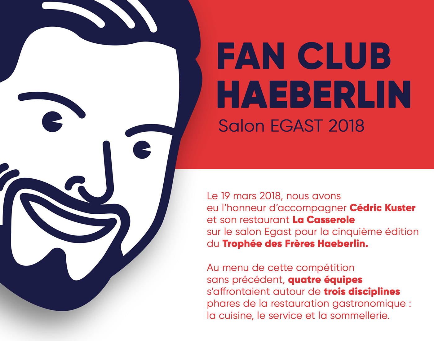 logo fan club design Illustrator Goodies