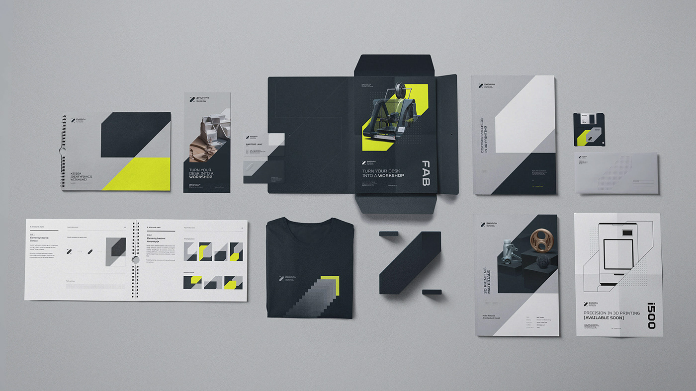 3d printing industry key visual landing page Mateusz Pałka Product Page rebranding symbol studio visual strategy z logo