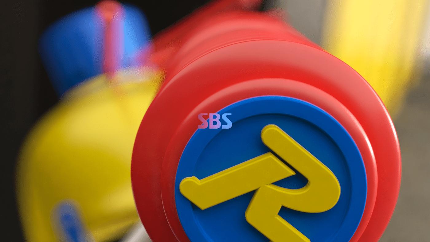 branding  broadcasting Channel Ident motiongraphic Program SBS