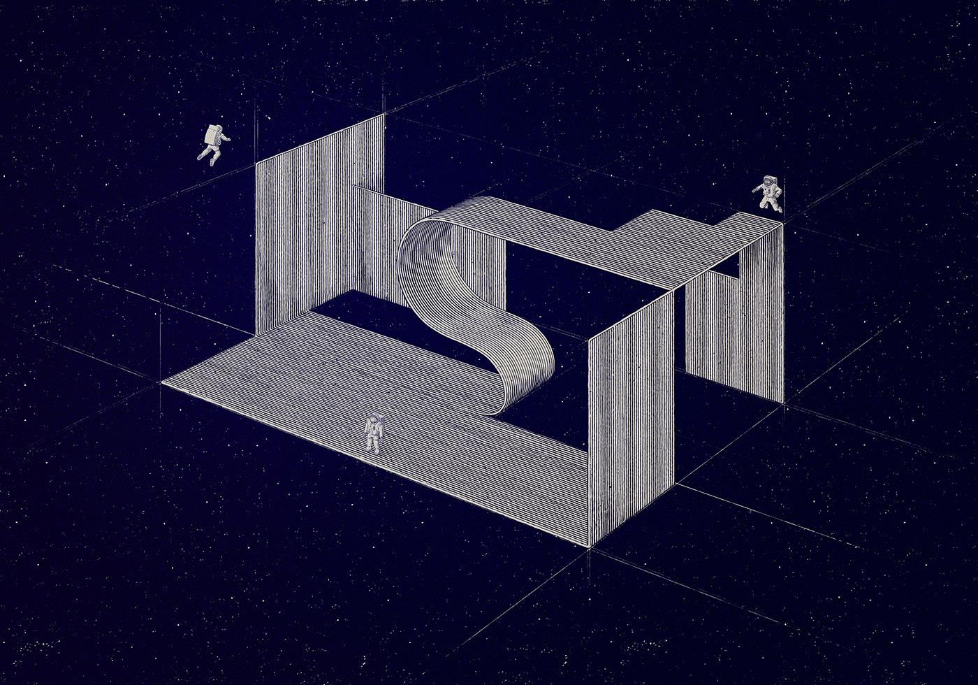 print constructivism katarzyna kobro Strzeminski bauhaus poster skate Space  astronaut geometry