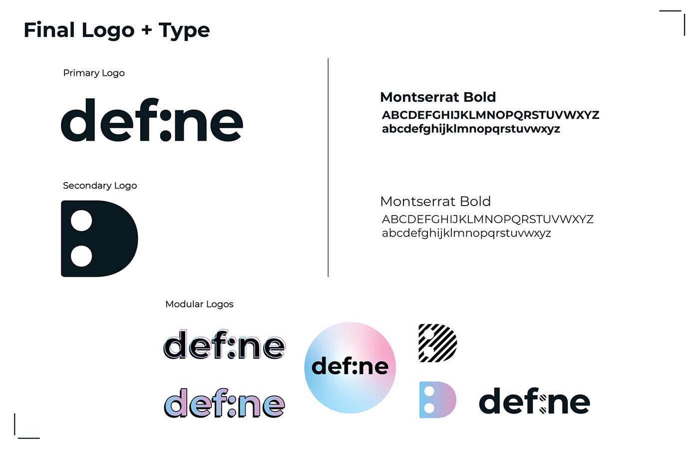 brand identity Capstone marketing   senior project