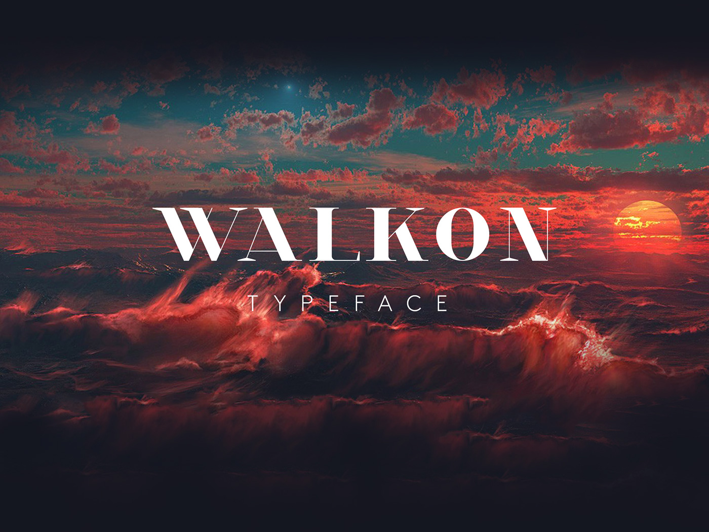 Walkon Fire Font Download