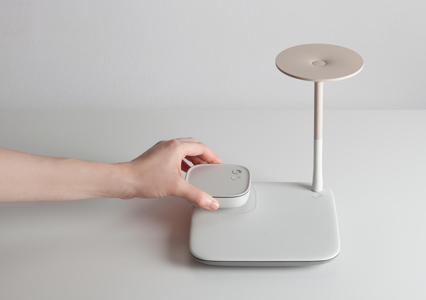 Pedora mobile pad wireless charger Smart light Samsung bkid