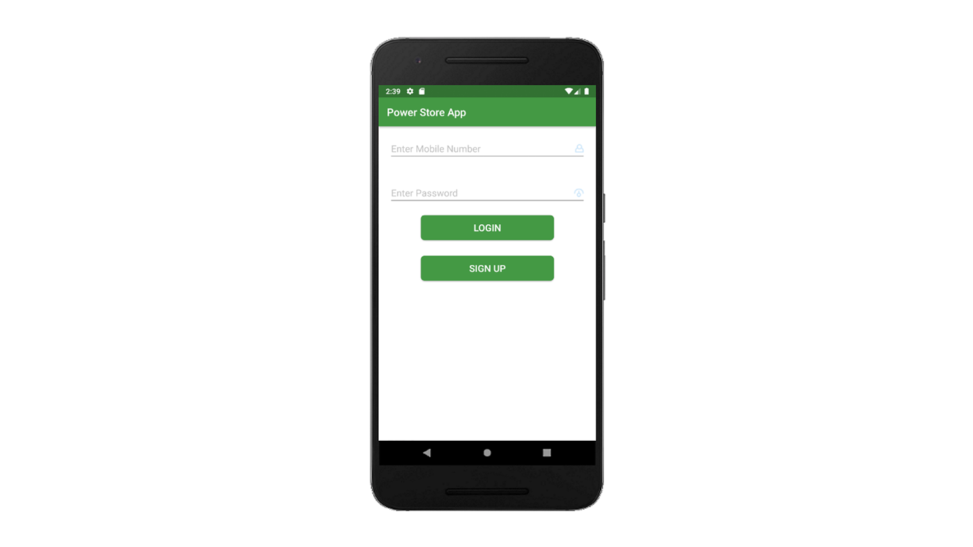 app android kotlin Android Studio power store Power Store paypal