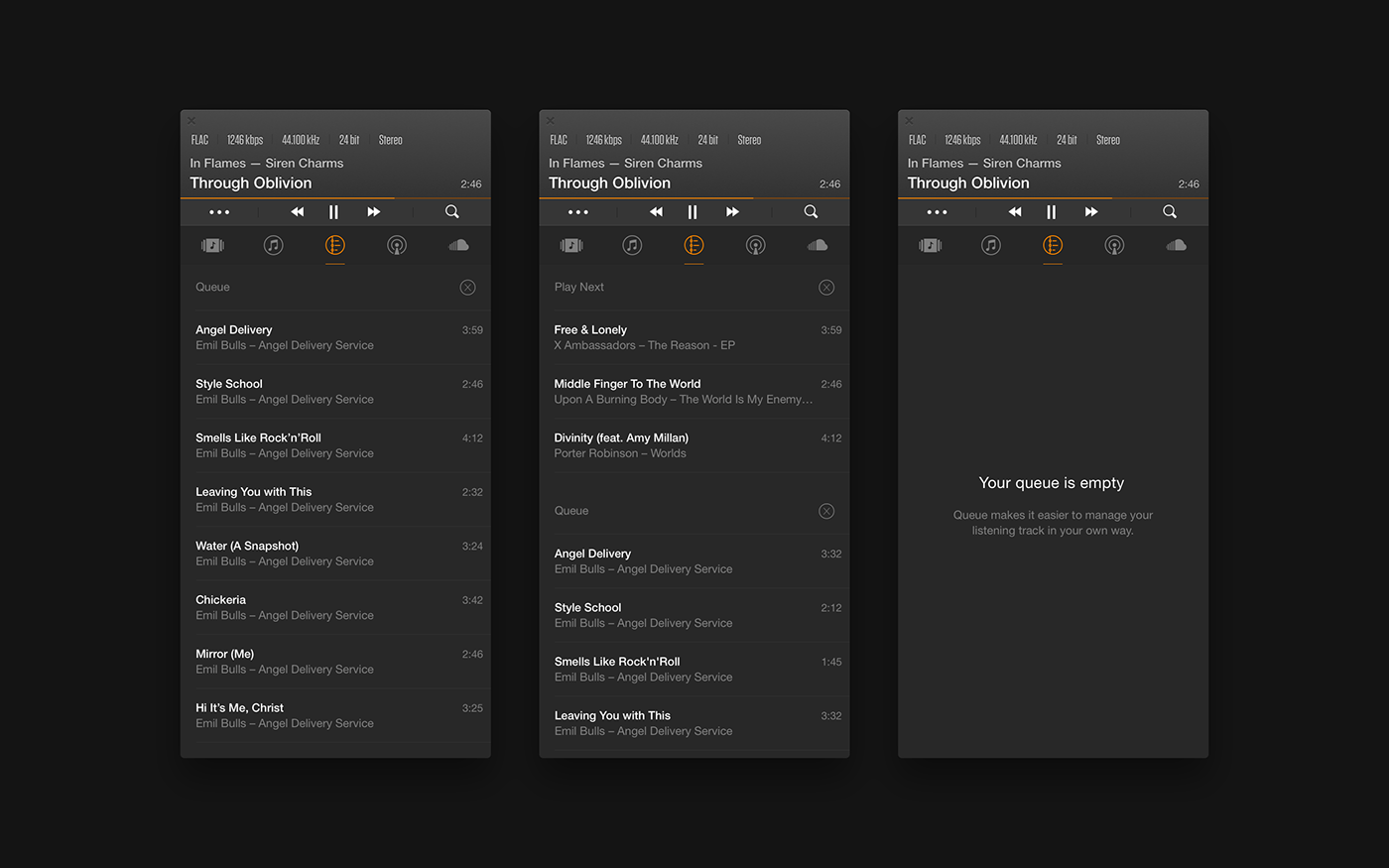 VOX — Music Player for Mac on Behance