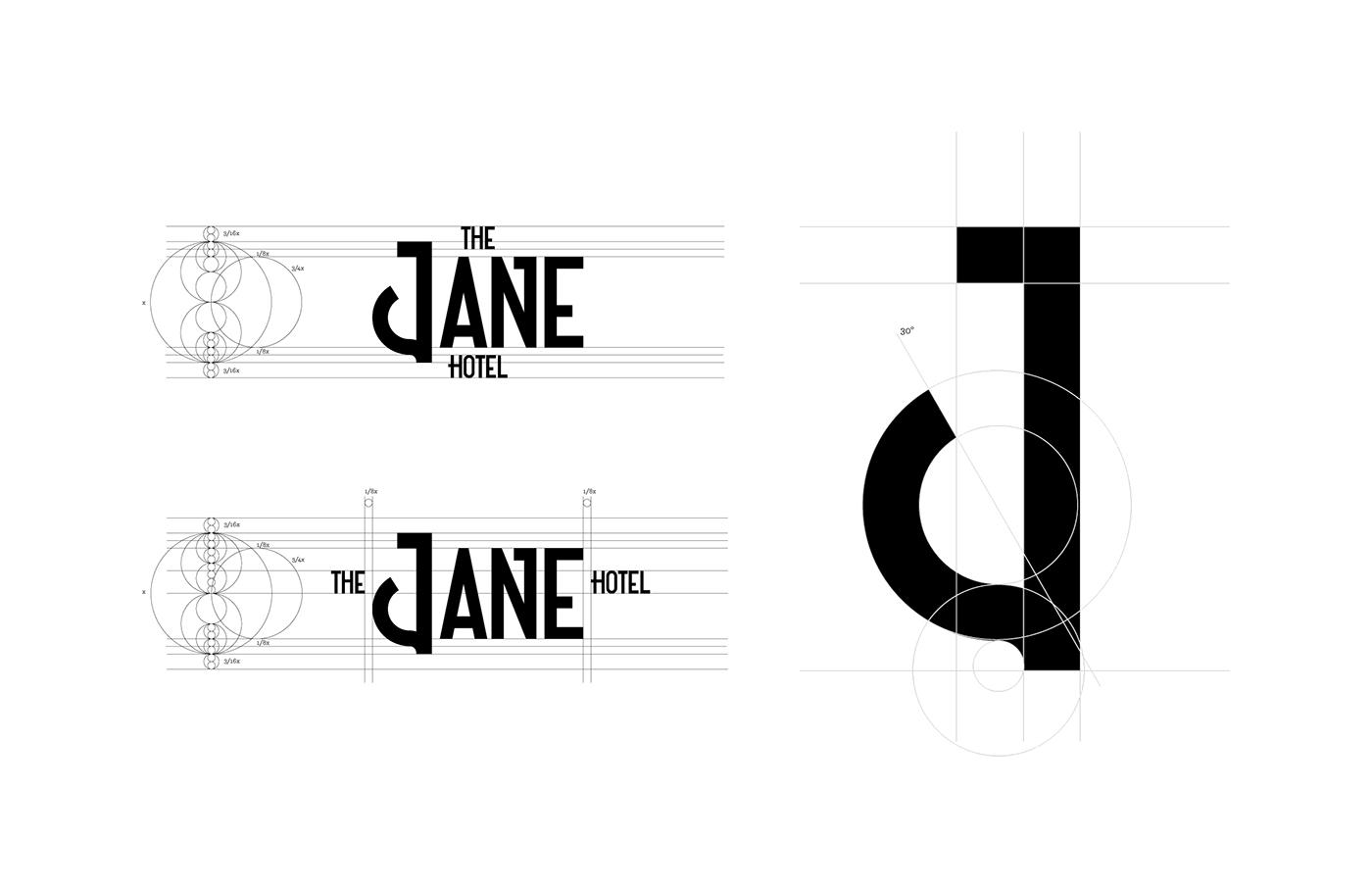 the jane hotel,jane,hotel,Hospitality,rebranding,stationary,nautical,marine,vintage,hostel