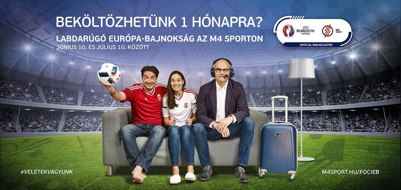 football tvc bb billboard Channel Promotion uefa euro sport