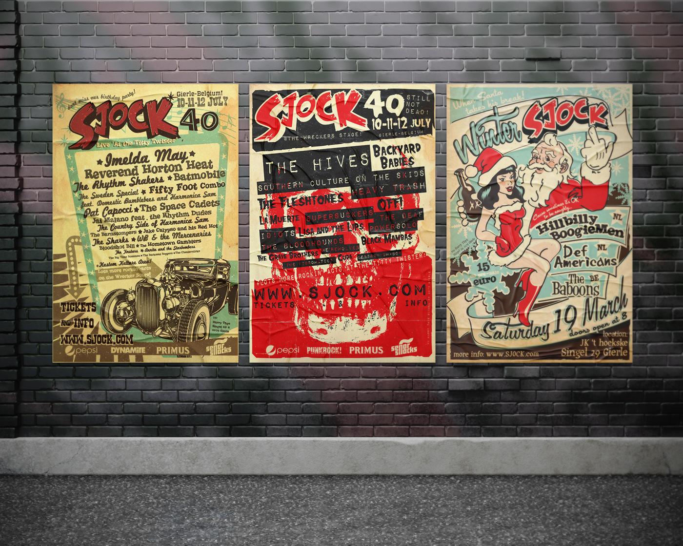 festival poster rock