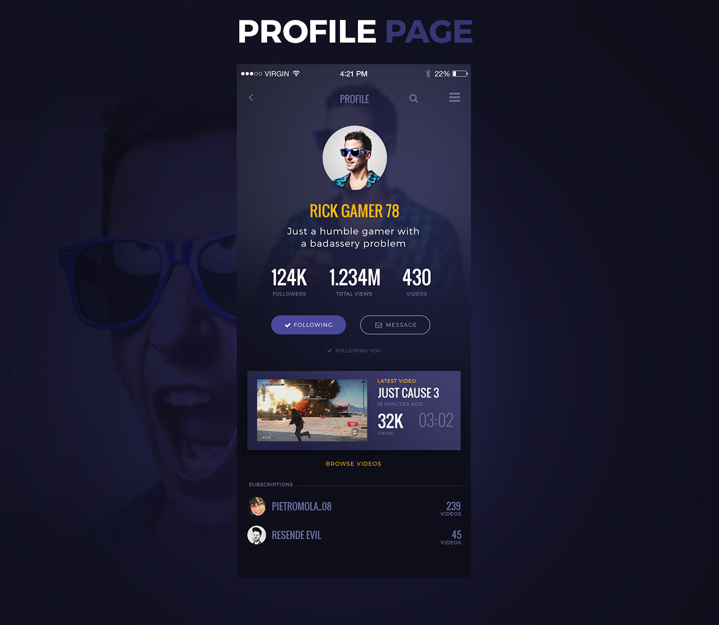 Game Streaming App Proposal For Docler Luxembourg On Behance