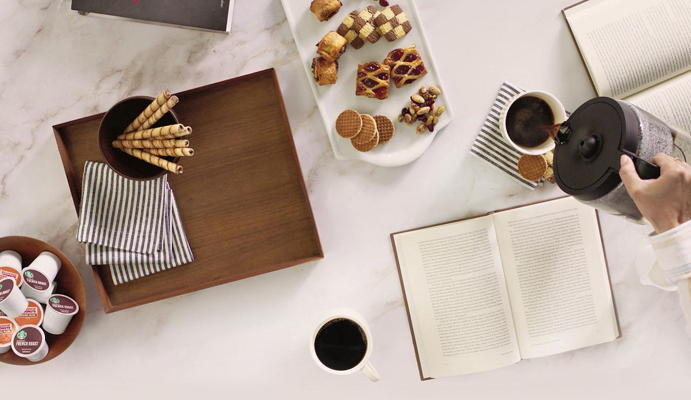 keurig Coffee ad coffeemaker funny French ellefaitles2
