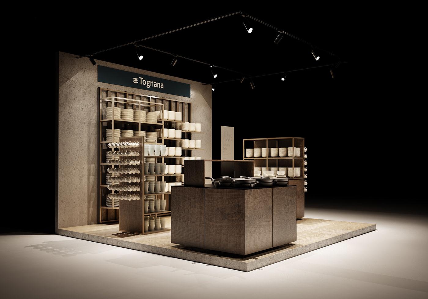 Interior interiordesign design Render rendering communication Stand standdesign