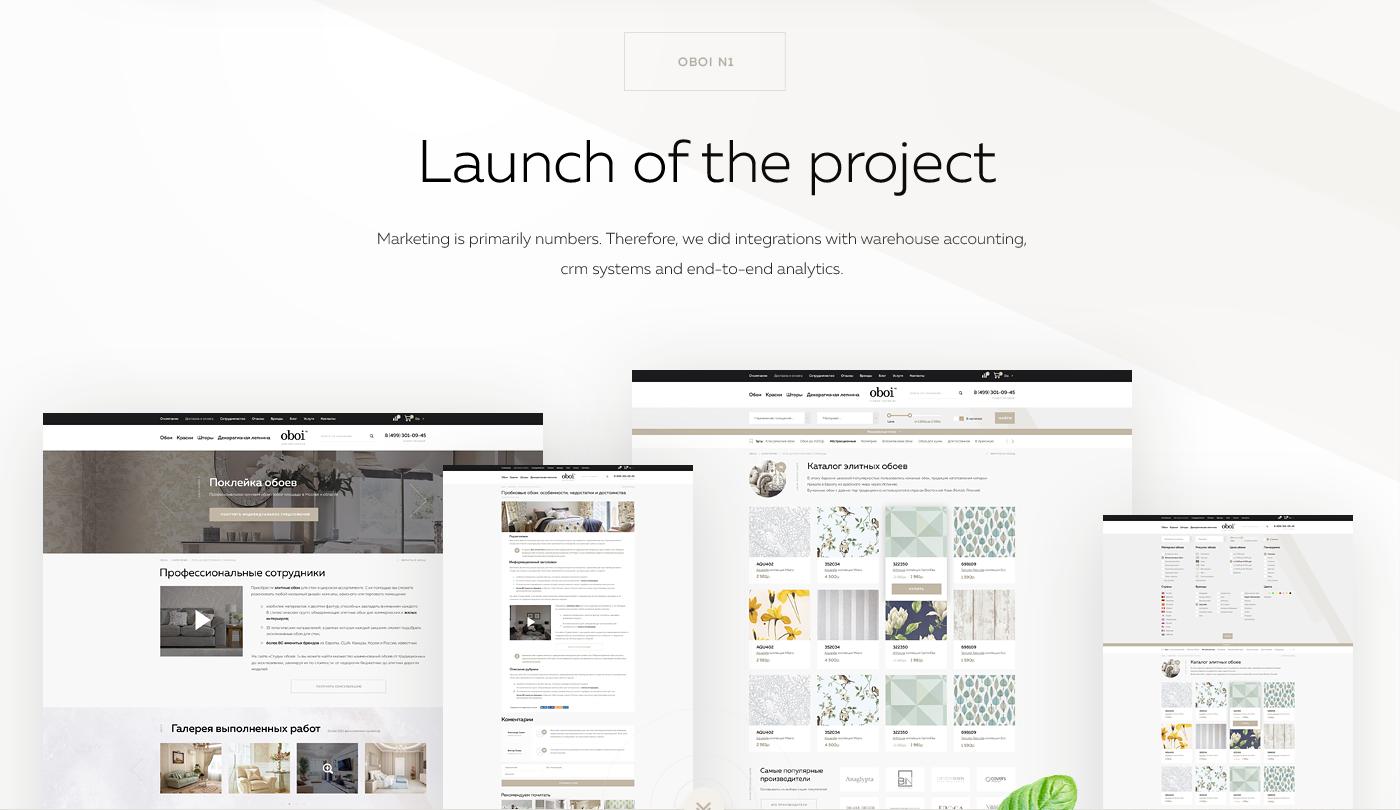 UI ux Ecommerce store Web design Responsive Wallpapers
