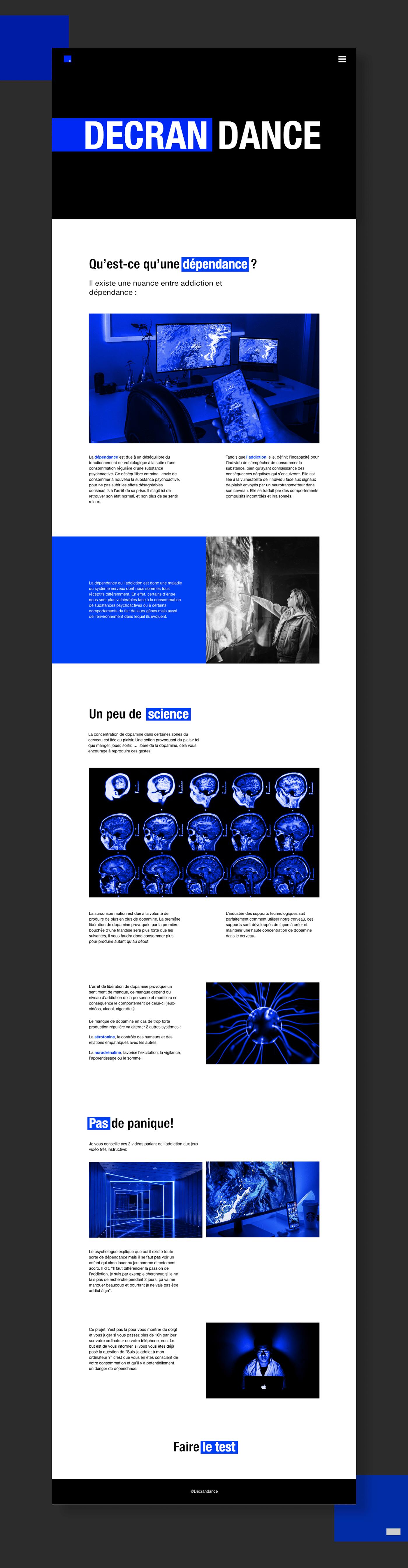 Interface UI/UX Design Webdesign