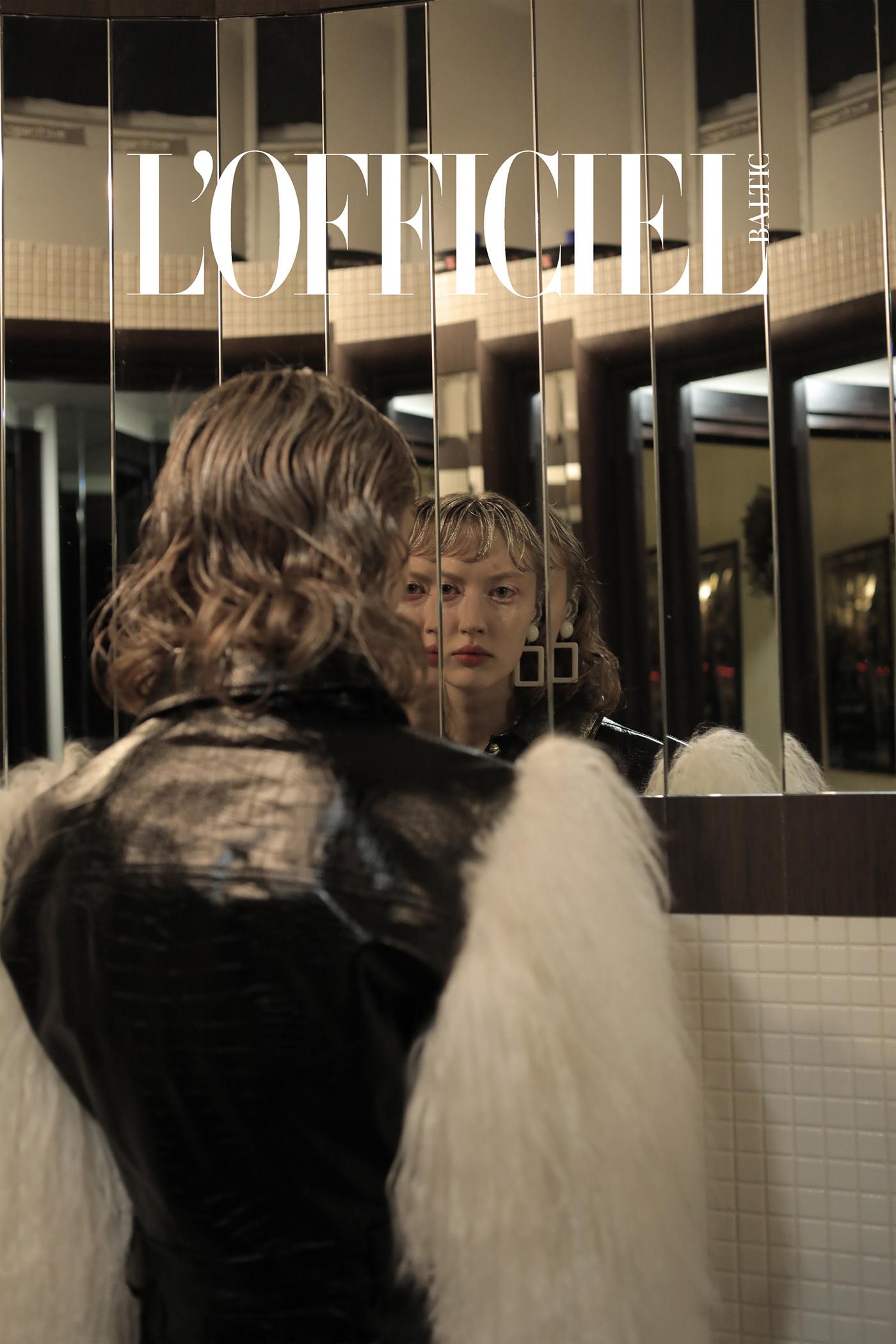 beauty creative editorial Fashion  hair Lofficiel makeup MUA trends Baltic