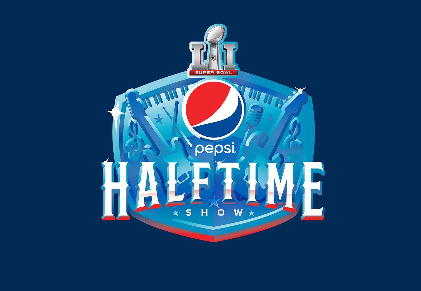 803b4144bcb274 Super Bowl Pepsi Halftime Logo on Behance