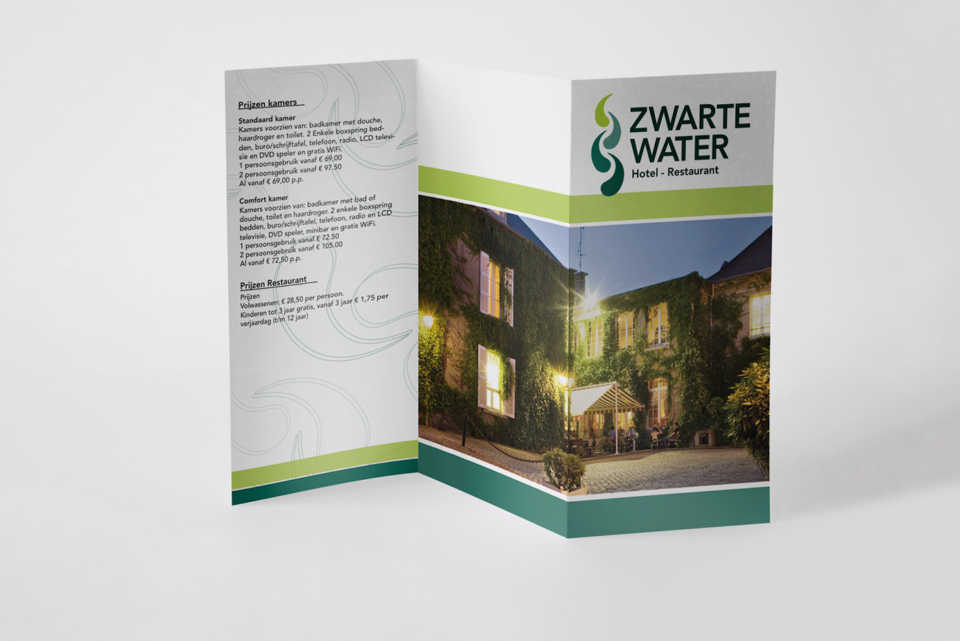 Hotel Zwarte Water on Behance