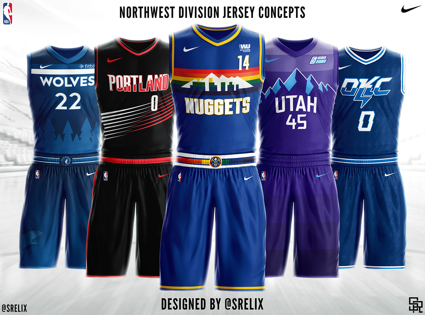 NBA Jersey Concepts on Behance 4c351b316090