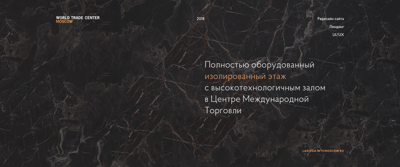 Events Minimalism Website clean conference Hall Moscow Exhibition  forum Web