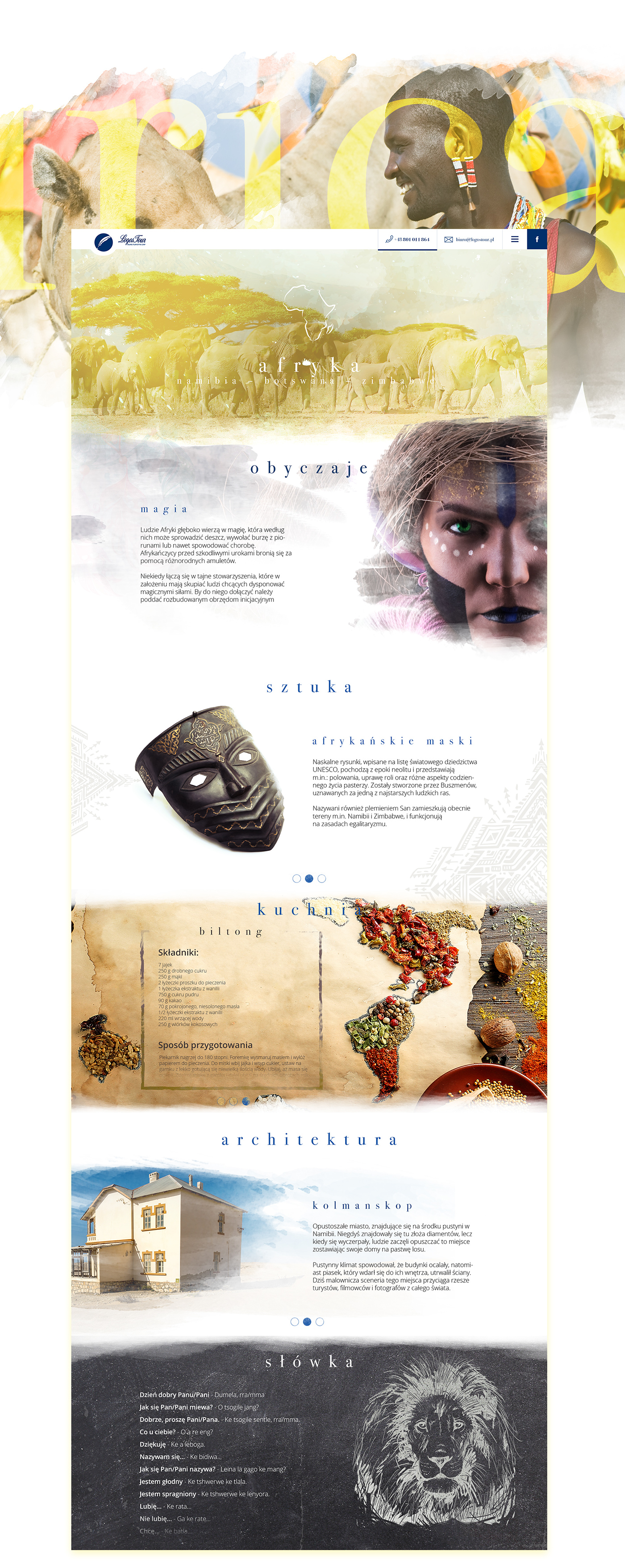 ☆Culture of the seven continents on Behance