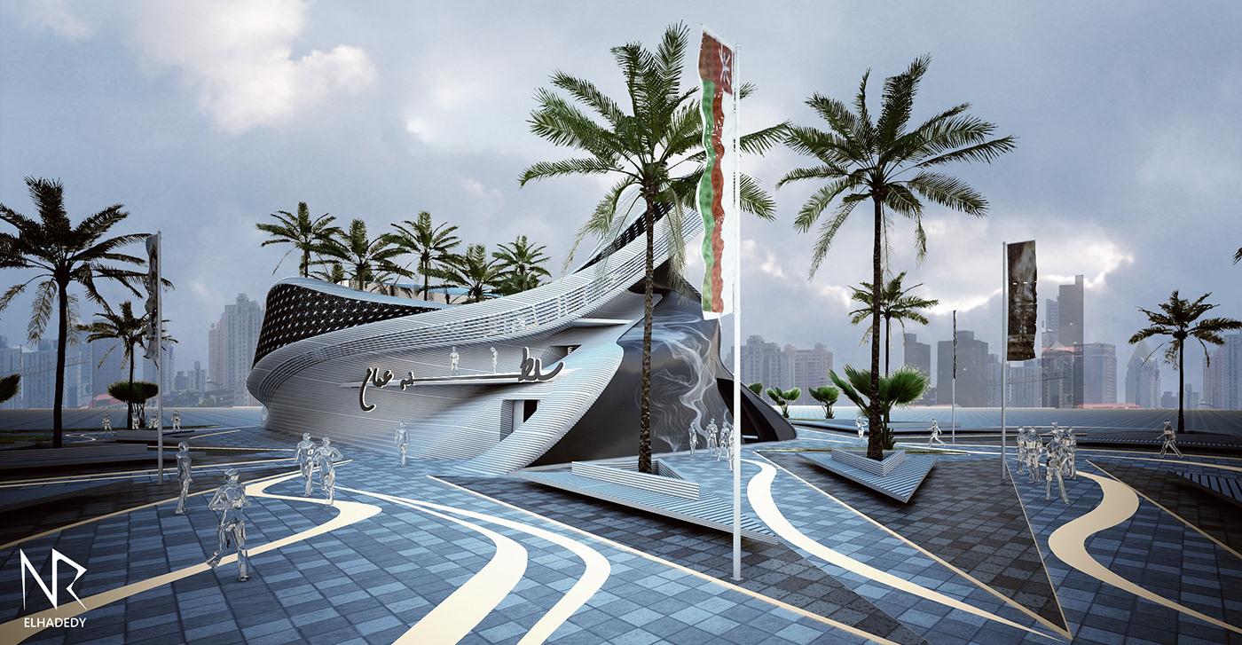 Oman expodubai expo2020 pavilion modern architecture middleeast expo expooman