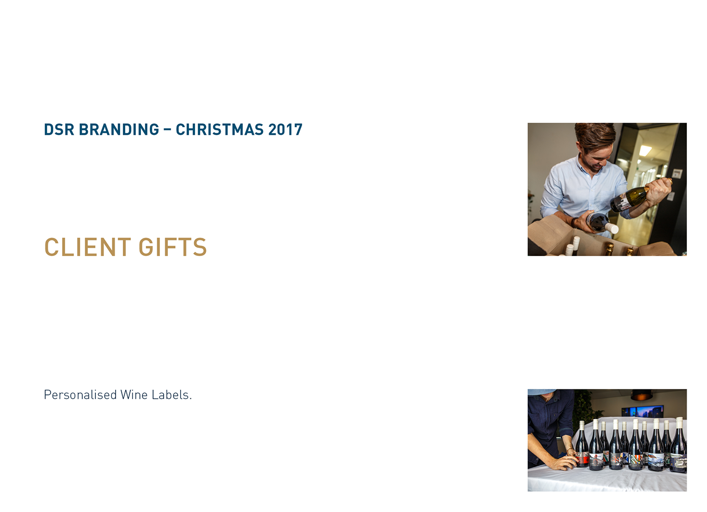 Dsr branding personalised client gifts christmas 2017 on behance are inspired by the brands individual personality featuring a combination of brand elements creative commons imagery and hidden easter eggs negle Gallery