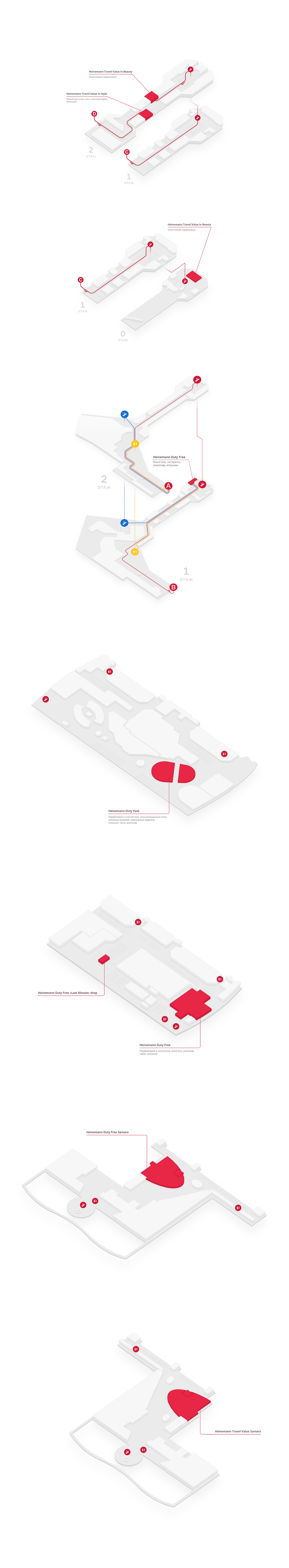 map 3D Isometric navigation Web