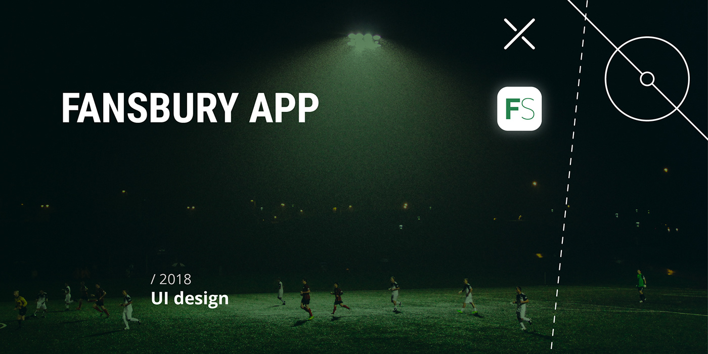 amateur app fansbury football soccer Tournament UI