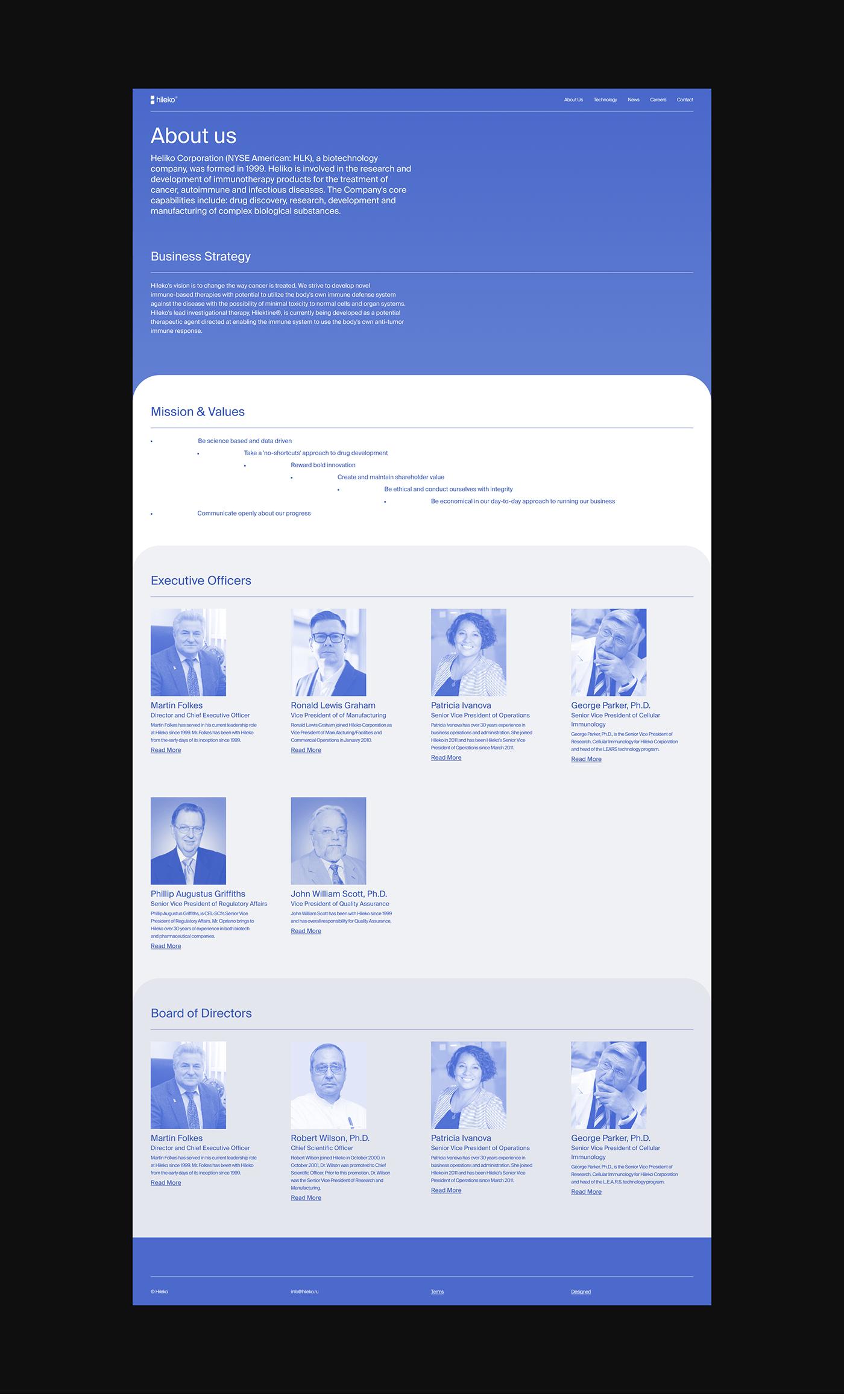 animation  corporate Health innovation promo threejs UI ux Web Design  Website