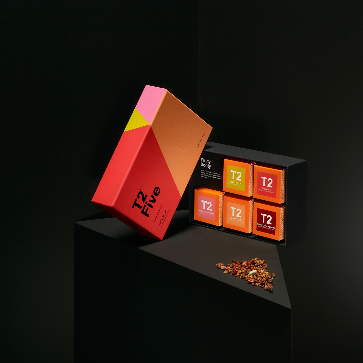 Packaging design graphic colours tea t2 typography   branding  print