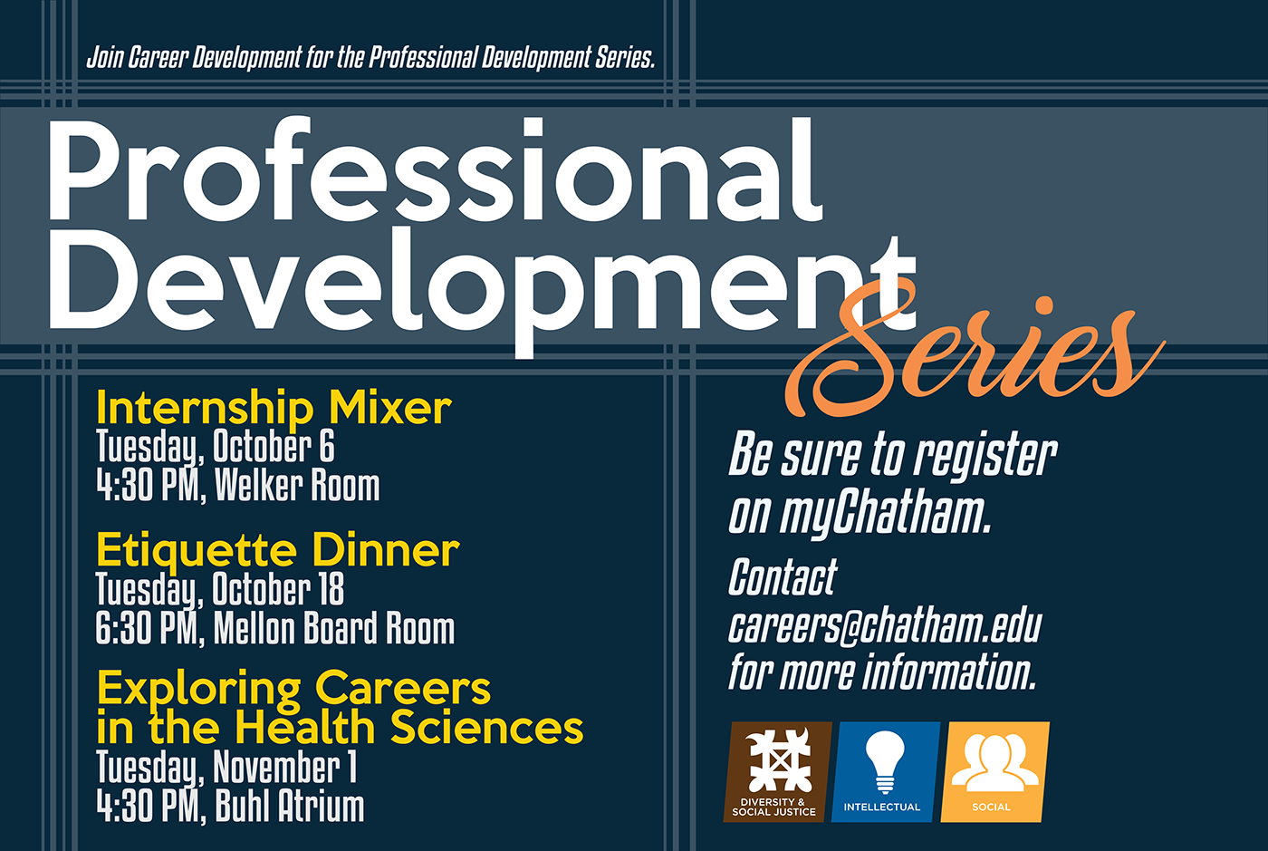 Professional Development Series Materials on Behance