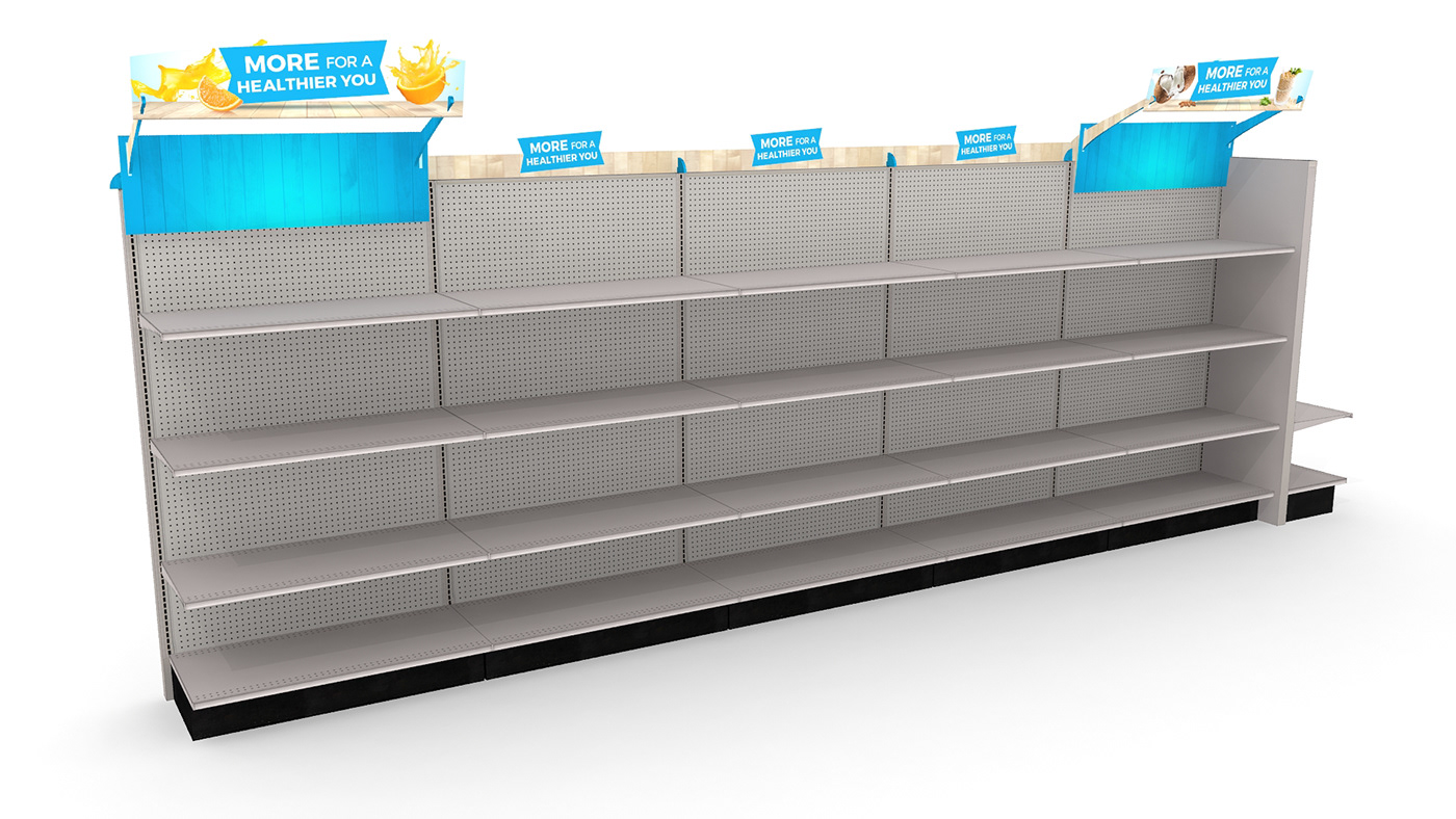 store design Health Rebrand design ILLUSTRATION  powerade Wellness sporting goods merchandising
