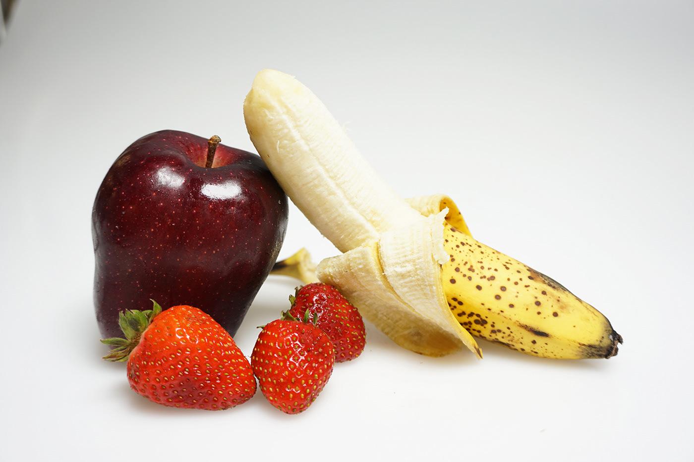 Image may contain: fruit, banana and food