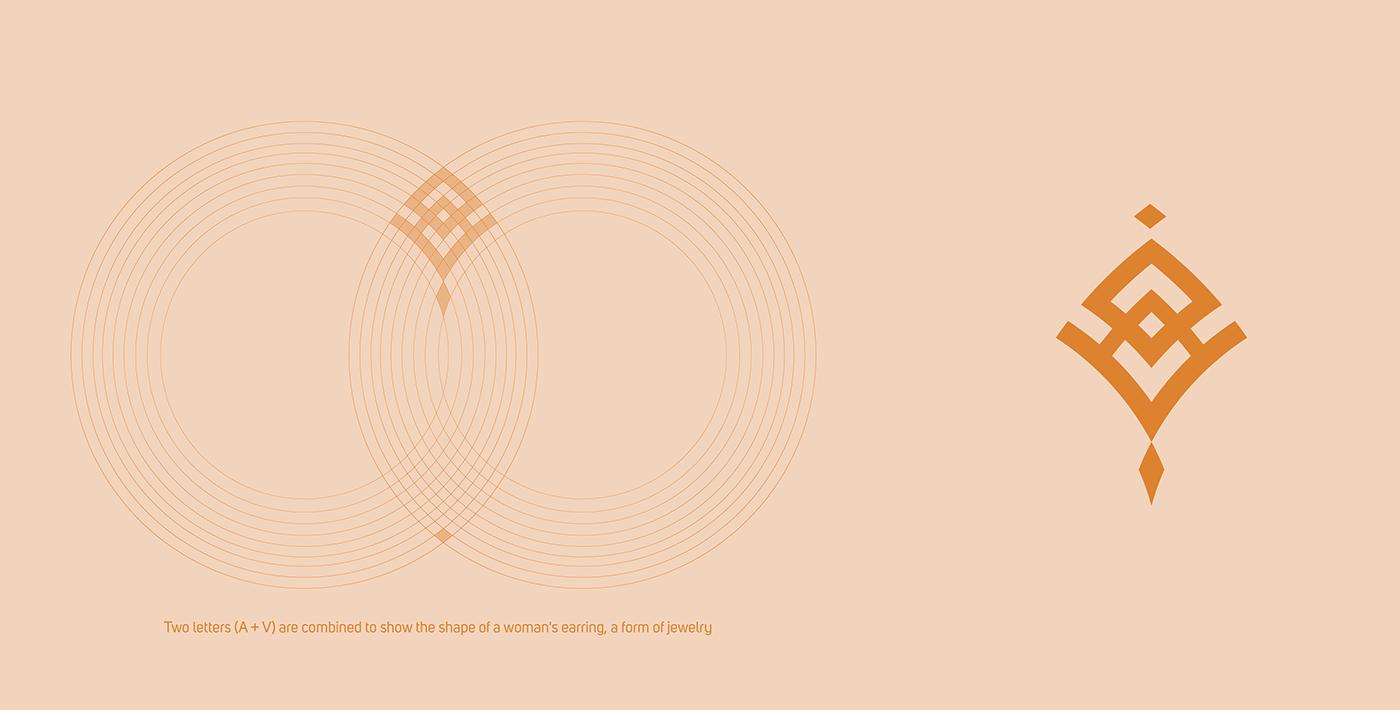 brand identity branding  identity Jewellery jewelry jewelry branding logo Packaging