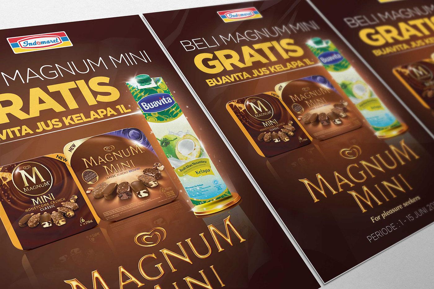Magnum Promo Poster On Behance