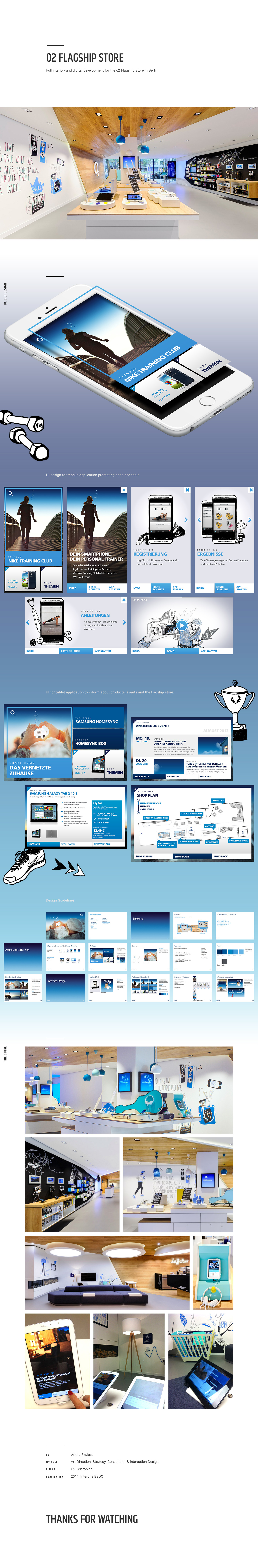UX design Interaction design  ui design interior design  Flagship Store app shop Interior mobile tablet