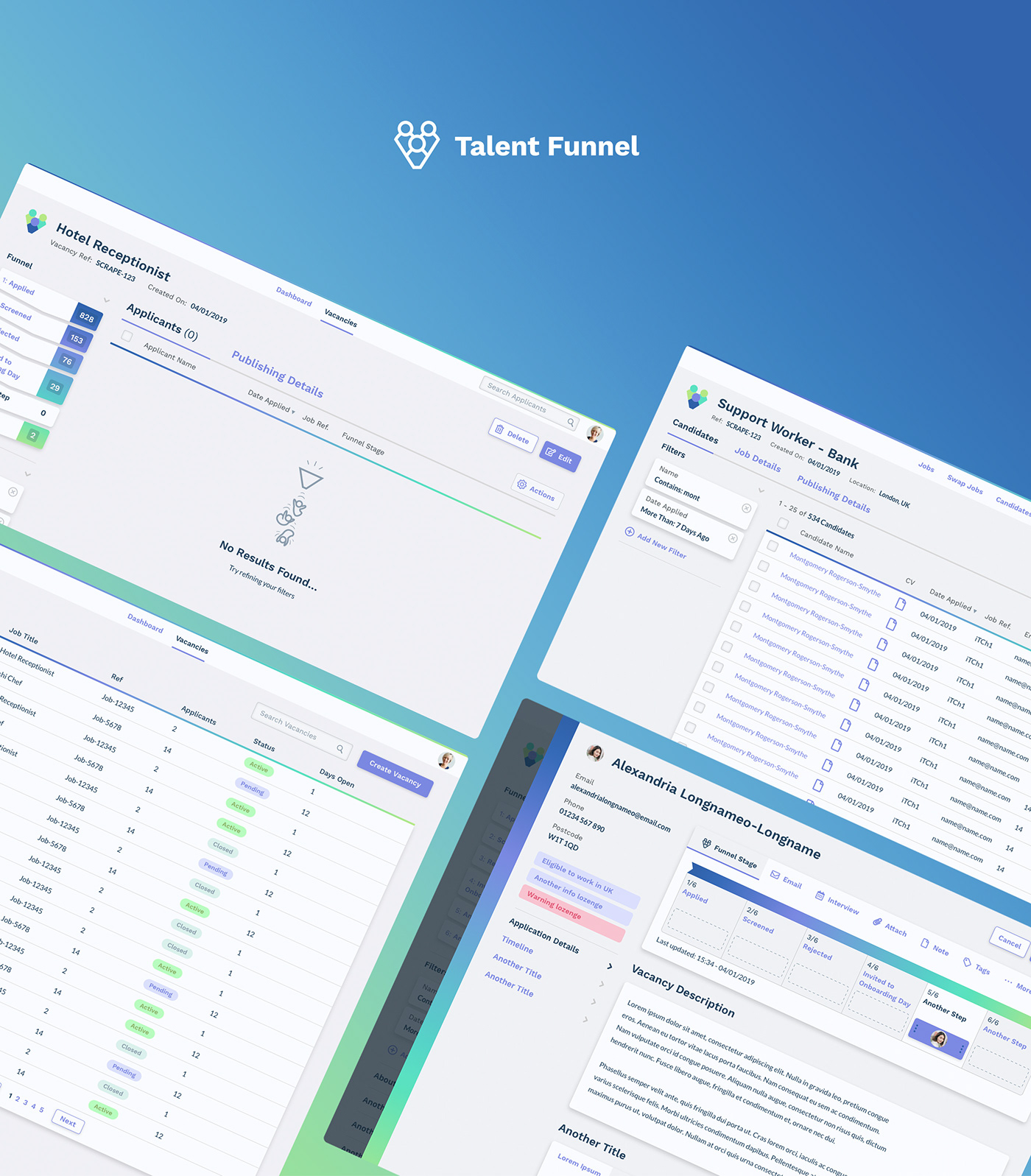 ux UI product design  applicant tracking CRM Interaction design  user experience experience design branding  ILLUSTRATION