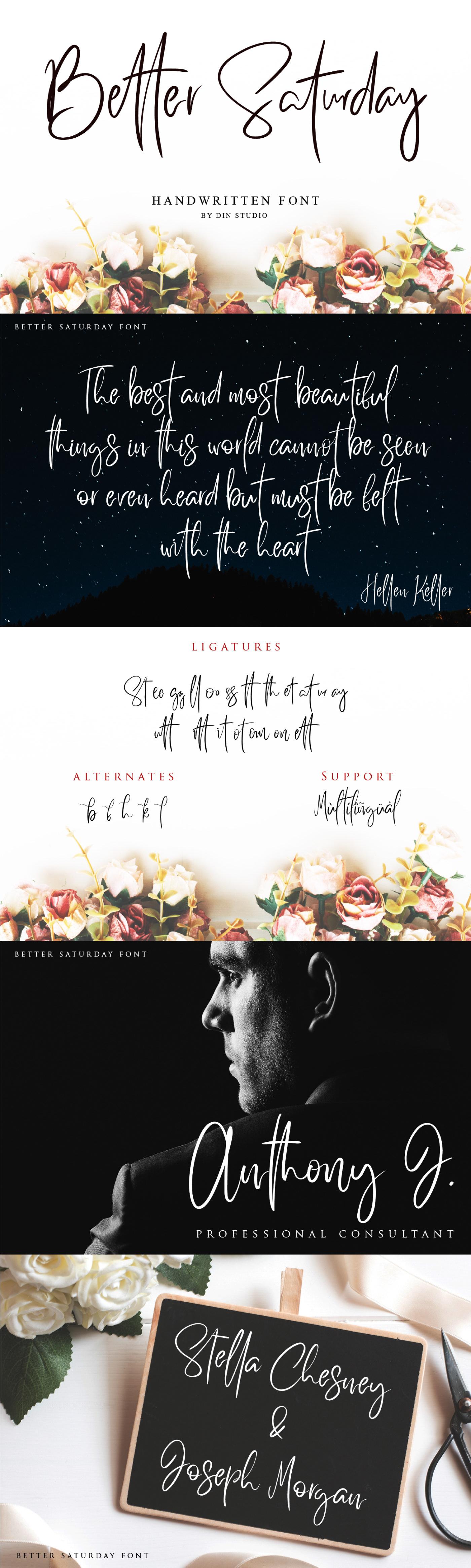 Шрифт – Better Saturday