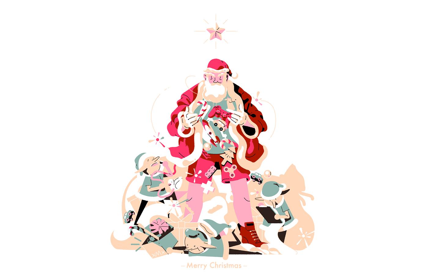 高品質的32張聖誕節圖片欣賞
