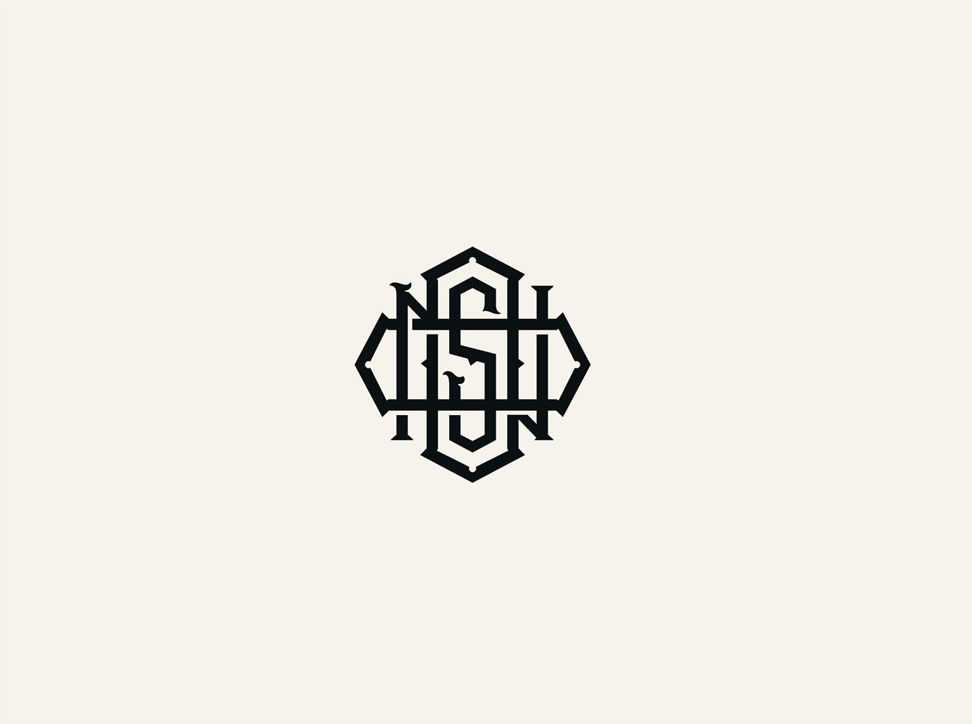 lettering Handlettering Drawing  packagedesign logo brand crest monogram