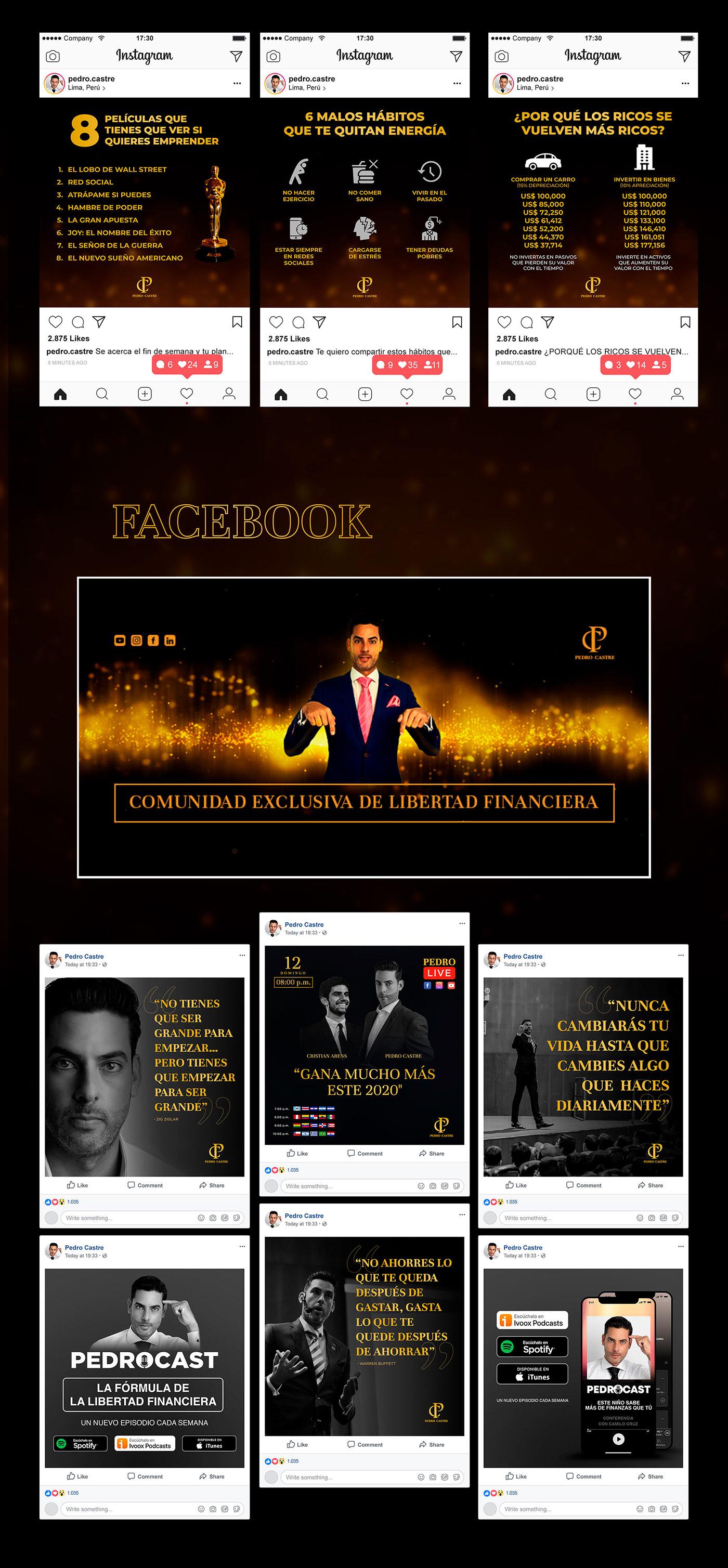 Coach digital diseño facebook financiero instagram marca personal marketing digital redes sociales social media