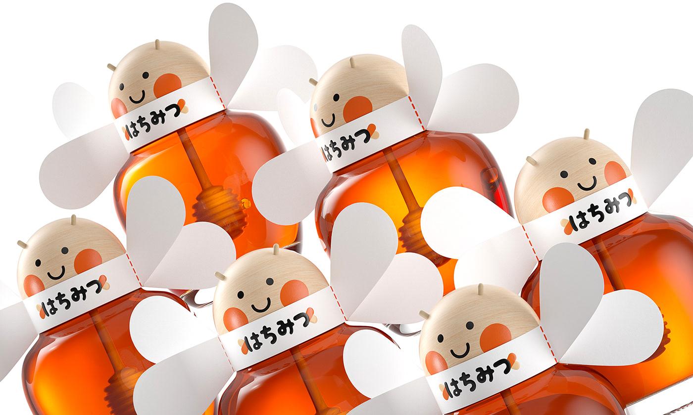 bee bolimond c4d honey octane Pack Packging