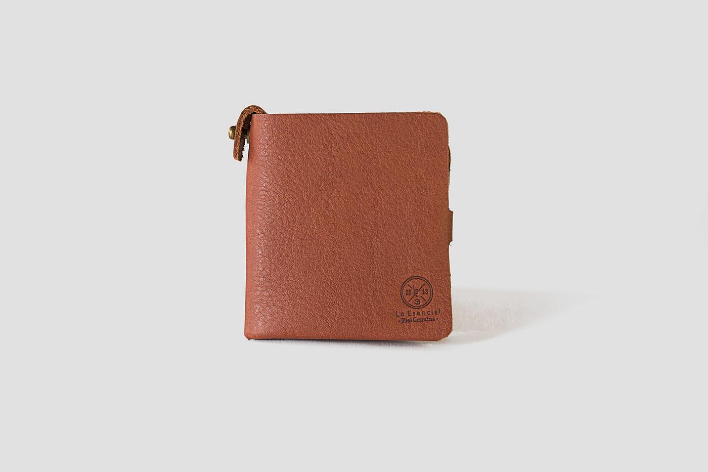 WALLET leather seamless mexico mexicandesign leathergoods loesencial adolfo navarro Mexican unibody cardholder lo esencial