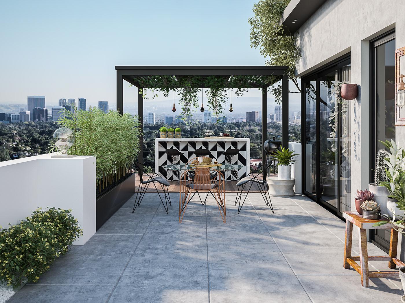 Modern Outdoor Roof On Behance