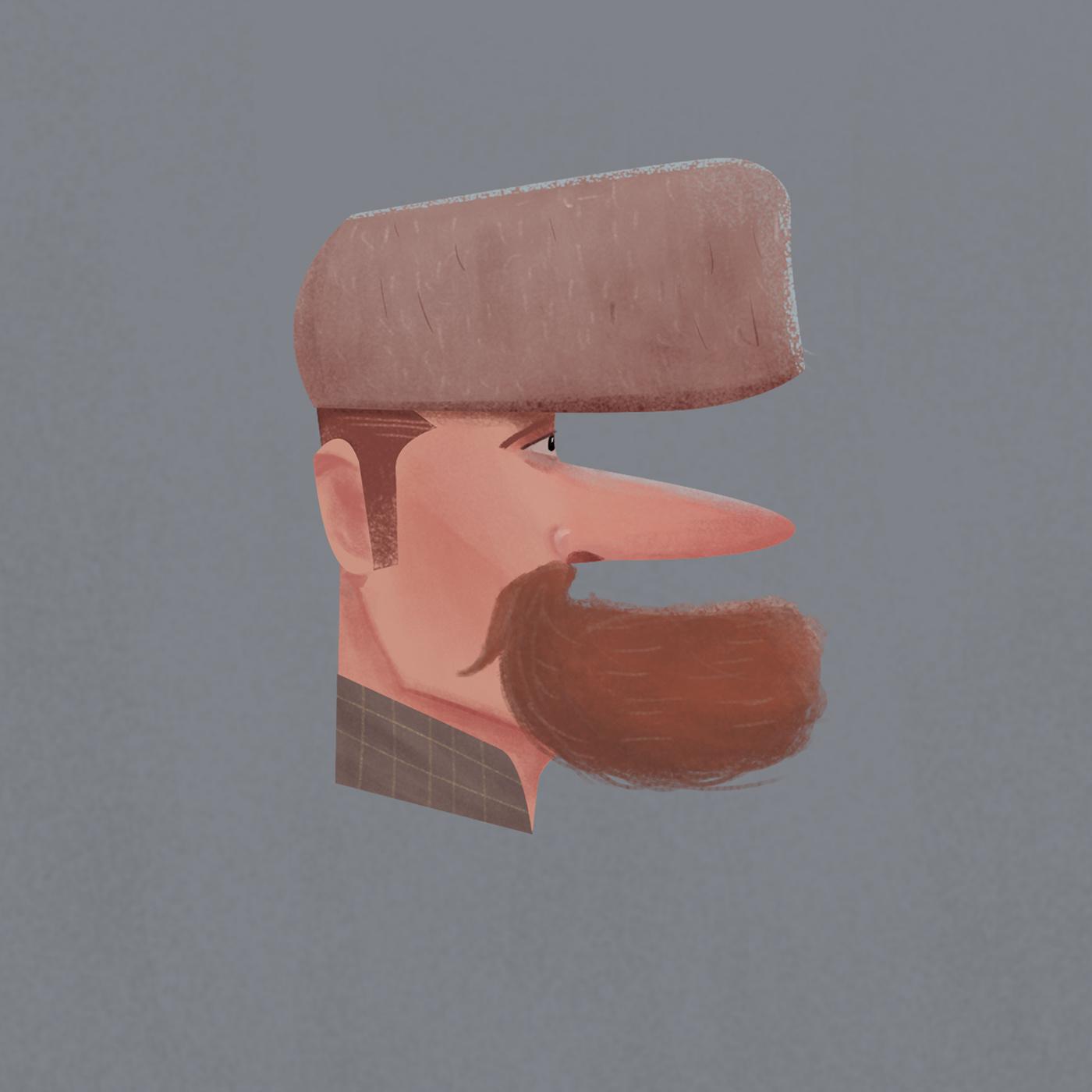 36 dayoftype art artwork Character design  digital paint digitalart drwa ILLUSTRATION  littering sketching