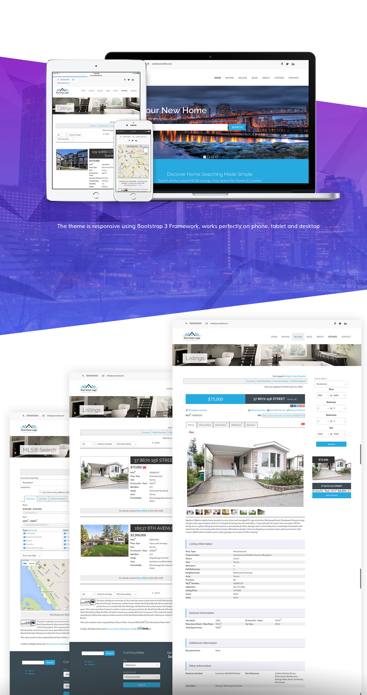 ANON - Real Estate WordPress Theme for ClickSold