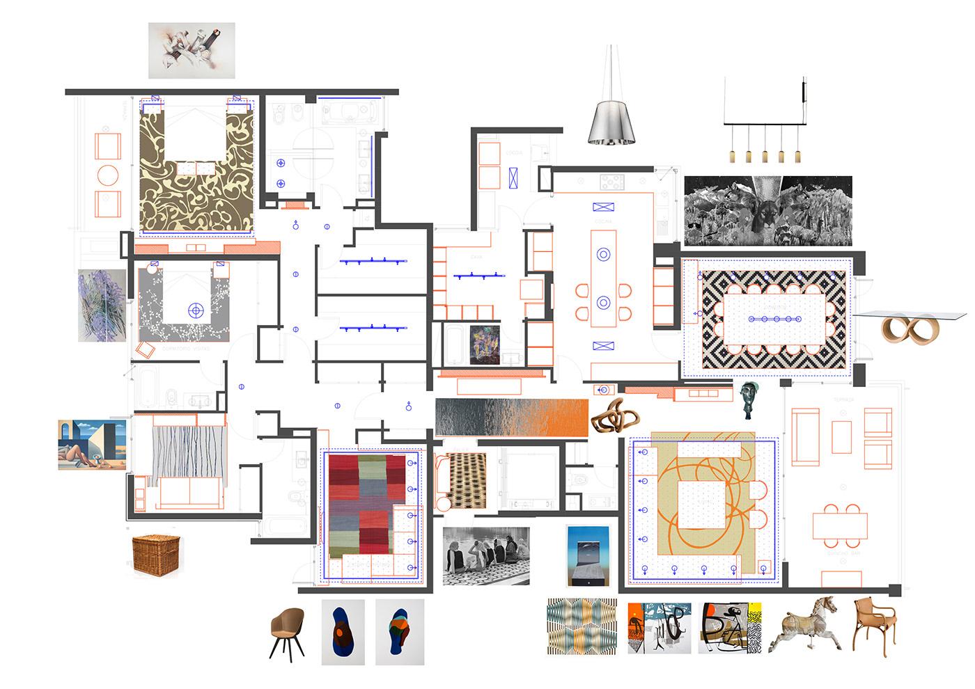 remodelación departamento mobiliario habilitacion interior REMODELACION INTERIOR diseño de iluminacion iluminacion led led furniture interior design  MOBILIARIO INCORPORADO