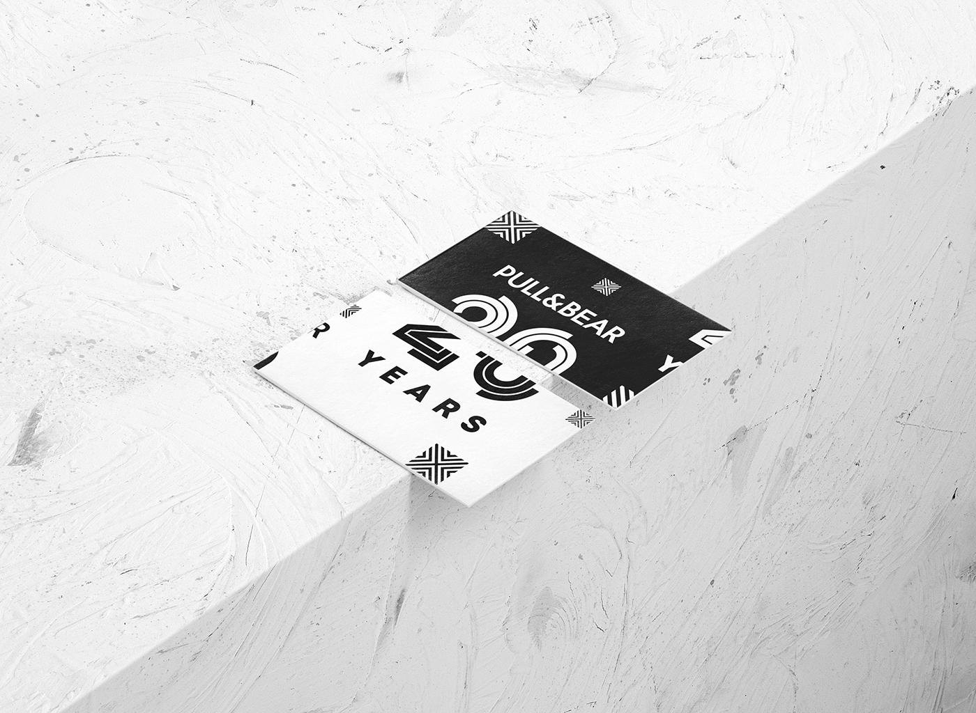 logo vector anniversary geometric Fashion  store minimal pattern Urban poster