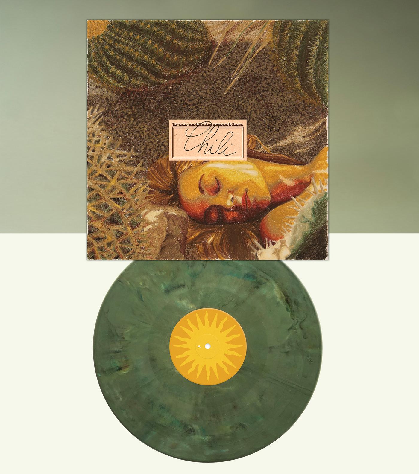 album cover art burnthismutha cover Cover Art desert guifurt music Red Tour vinyl record